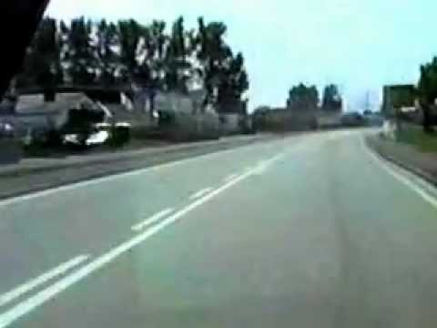 CFB Lahr (main gate), Lahr, Kippenheimweier to Nonnenweier, Germany 1982-86.wmv