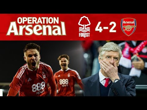 NOTTINGHAM FOREST 4-2 ARSENAL - EMBARRASSING!
