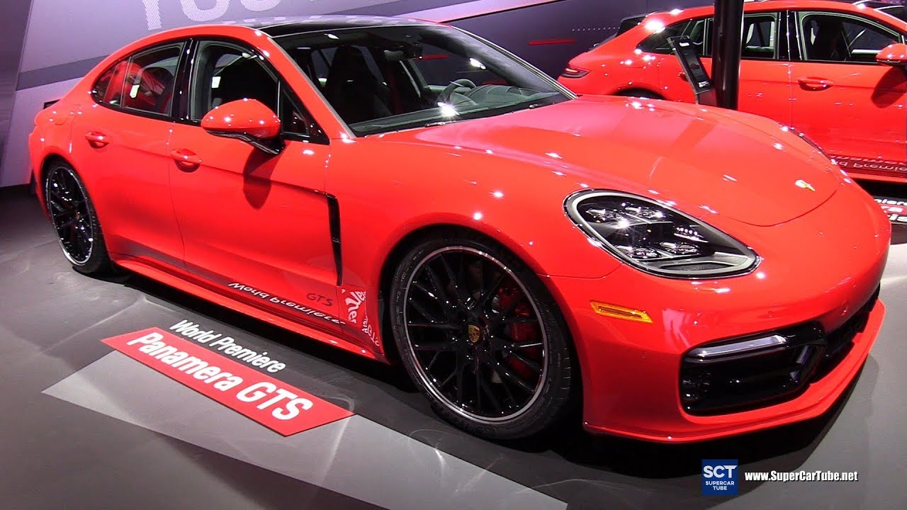 2020 Porsche Panamera Gts Exterior And Interior Walkaround Debut 2018 La Auto Show Youtube