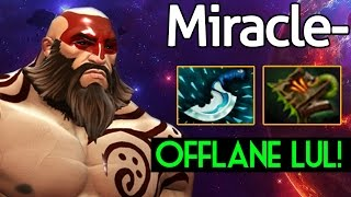 Video Miracle- [Beastmaster] 9k Offlane LUL! Dota 2 7.05 download MP3, 3GP, MP4, WEBM, AVI, FLV Juni 2018