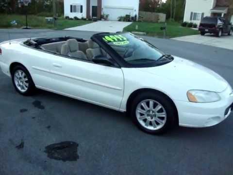 2003 chrysler sebring convertible one owner 103 000. Black Bedroom Furniture Sets. Home Design Ideas