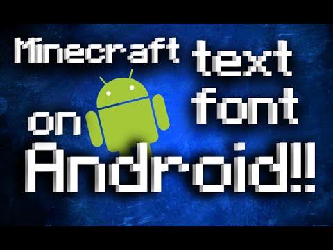 minecraft font free