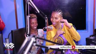 Diamond Platnumz & Mafikizolo in Xxl Clouds Fm