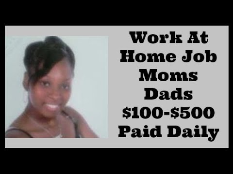 Work At Home Jobs 2017 For Moms Dads Wife Husband (Stay At Home Jobs For Moms Dads Wife Husband)