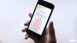Apple iPhone 5S - настройка сканера отпечатков пальцев(iPhone 5S - настройка сканера отпечатков пальцев., 2013-09-24T16:37:03.000Z)