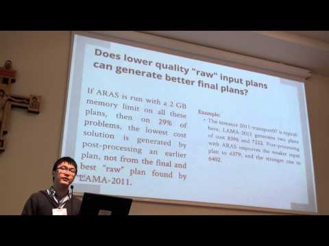 ICAPS 2013: Fan Xie - Better Time Constrained Search via Randomization and Postprocessing
