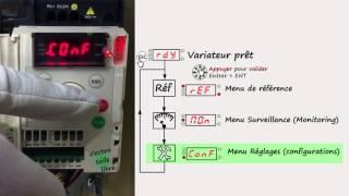 Utilisation d'un variateur altivar ATV12