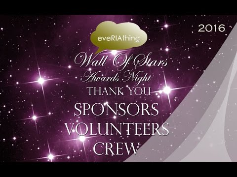 Wall Of Stars Sponsors Volunteers Crew
