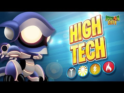 The High Tech Dragon!! Heroic Race: Galaxy - Dragon City