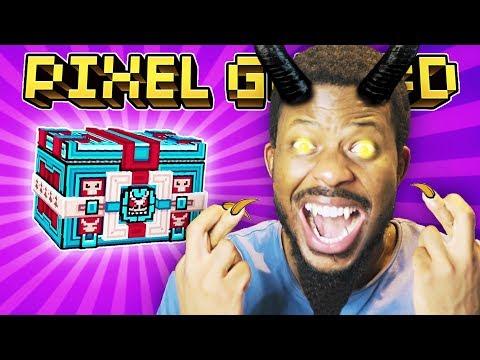 KRAMPUS SUPER CHEST OPENING! L Pixel Gun 3D