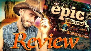 Review- Tiny Epic Western from Gamelyn Games!