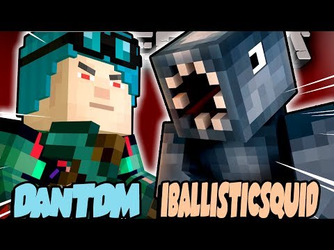 ADMIN DanTDM VS IBALLISTICSQUID !!- Minecraft Story Mode