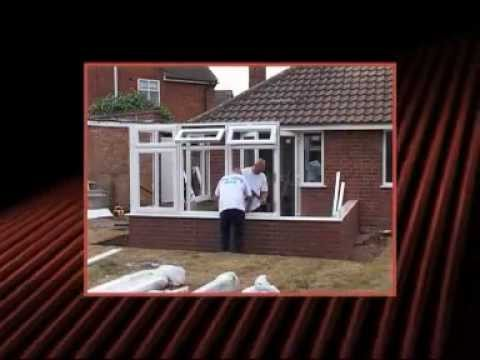 How to build a Conservatory base in one day - YouTube