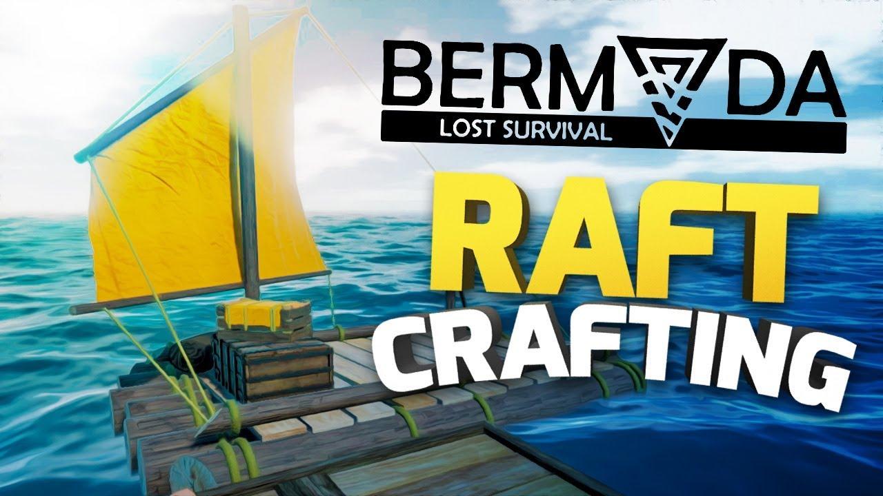 Bermuda - Lost Survival - RAFT CRAFTING & FINDING IRON ORE - Raft Survival  Gameplay