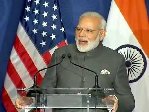 PM Modi Speech to Indian Community USA June 26 | Modi Addressing Indian Diaspora Full Speech