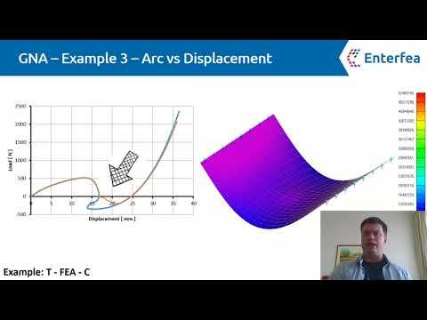 Nonlinear FEA: Snap-through problem! - YouTube