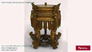 Asian Antique Taboret Japanese Tables For Sale