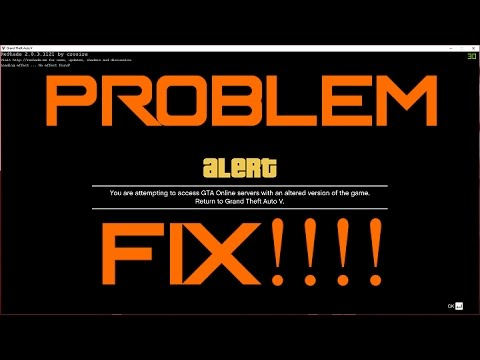 fix gta v error you are attempting to access gta online server