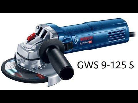 обзор BOSCH GWS 9-125 S