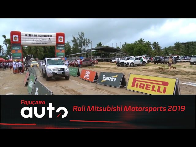 Rali Mitsubishi Motorsports 2019: Etapa de João Pessoa