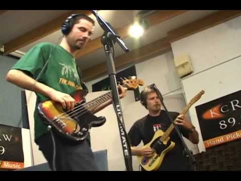 On-air Breakestra jam, KCR-W studios, L.A. 2003