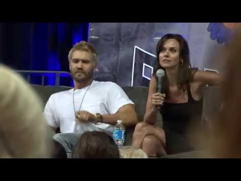 Chad Michael Murray, Hilarie Burton Q&A  Eyecon Return to Tree Hill 2 August 8, 2015