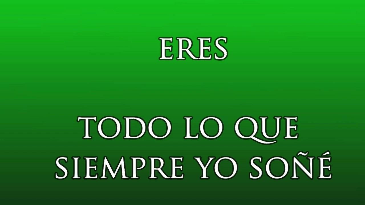 Eres - Kaly & Renzy (Vídeo con Letra) Lyrics - By Anny - Reggaeton