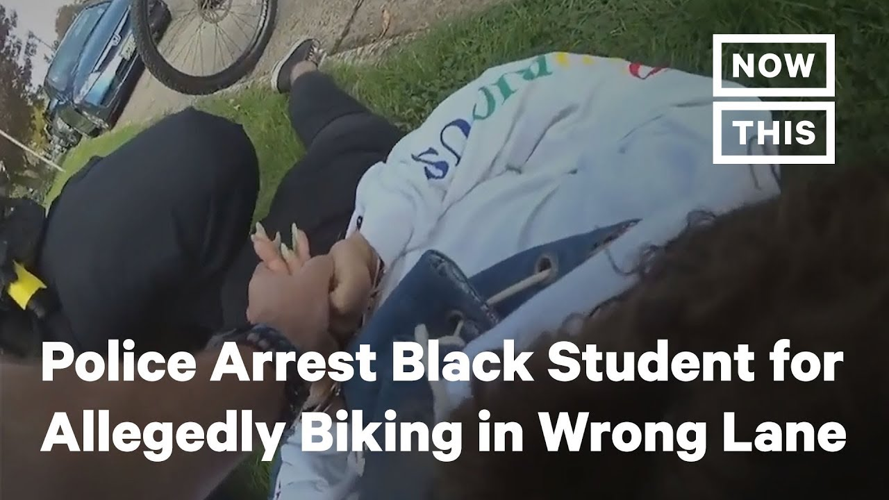 Police Arrest Black Student for Allegedly Riding Bike in Wrong Lane | NowThis