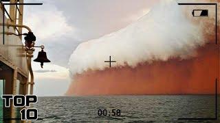 Top 10 Scariest Tsunamis Caught On Camera