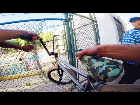 RIDING BMX IN ABANDONED COMPTON SEWER (BMX IN THE HOOD)