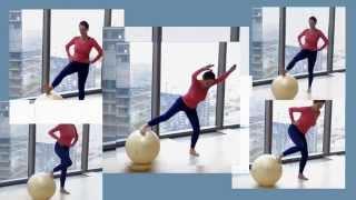 Эффективные упражнения - фитбол баланс(Привет, друзья! Приглашаю вас выполнить корректирующие упражнения на фитболе, записаться на он-лайн тренир..., 2015-09-19T23:55:48.000Z)