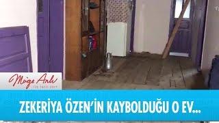 Zekeriya Özen'in tuhaf bir şekilde kaybolduğu o ev - Müge Anlı ile Tatlı Sert 11 Ocak 2019