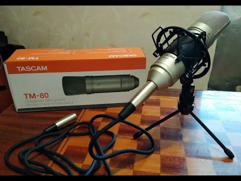 Мікрофон Tascam TM-80 (091TM80G00)