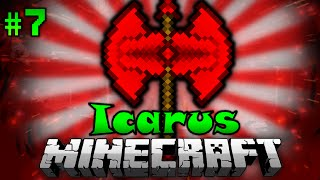Die ULTIMATIVE BATTLEAXE?! - Minecraft Icarus #07 [Deutsch/HD]