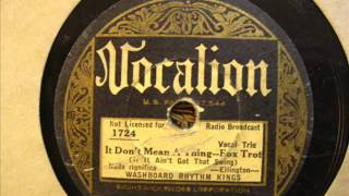 Washboard Rhythm Kings: It Don