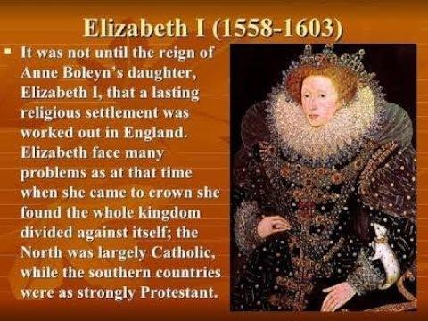 (Hindi) The Age of Elizabeth part-1 full explain