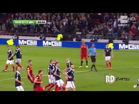 Scotland 0-2 BELGIUM's highlights | World Cup 2014 qualifying Group A | 2013/09/06