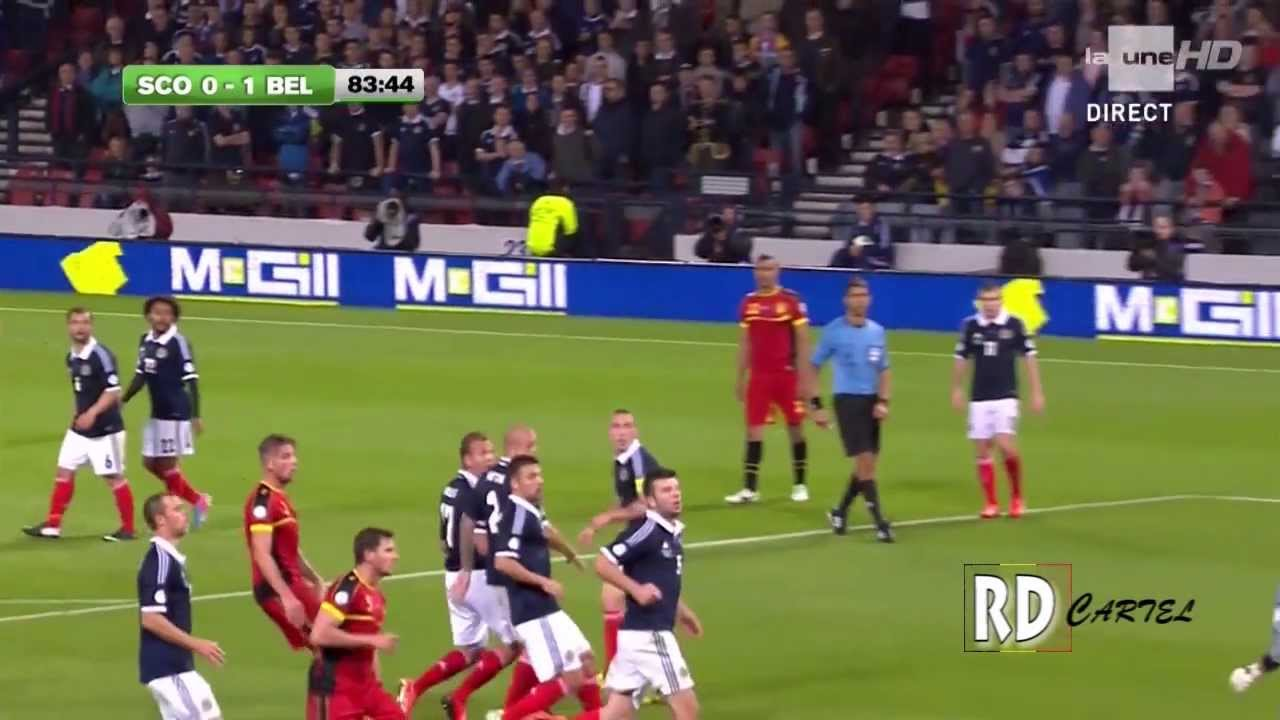 Scotland 0-2 BELGIUM's highlights