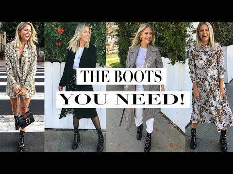 How To Wear Combat Boots!