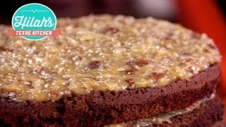 German Chocolate Cake | Hilah's Texas Kitchen