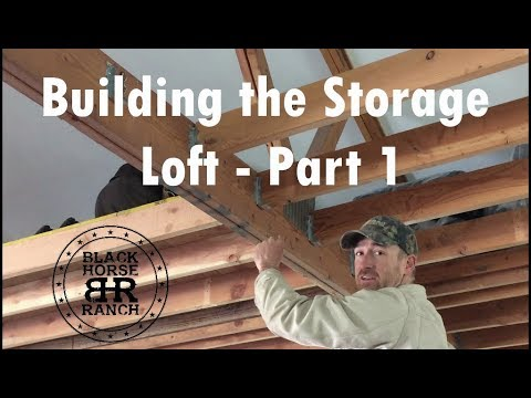 Building a Storage Loft - Part 1