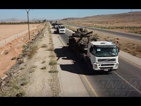 Another Syrian Army convoy heading south for upcoming Daraa offensive