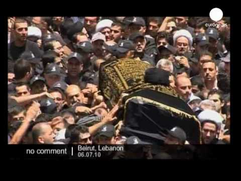 Funeral of Mohammed Hussein Fadlallah in Lebanon - no comment