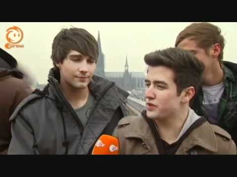 Big Time Rush - Interview With Logo In Cologne