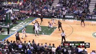 Milwaukee Bucks vs Toronto Raptors  - 1st Qtr Highlights   Game 6   April 27, 2017   NBA Playoffs