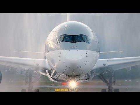 L'A350 de Qatar Airways à Genève!