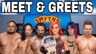 SMYTHS WWE SUPERSTAR MEET & GREET INFORMATION!!! | WWE NEWS