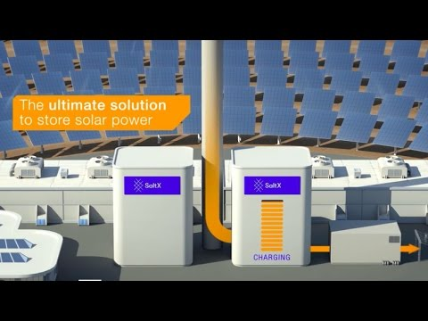 SaltX Energy Storage Technology - enabling continuous production from Concentrated Solar Power
