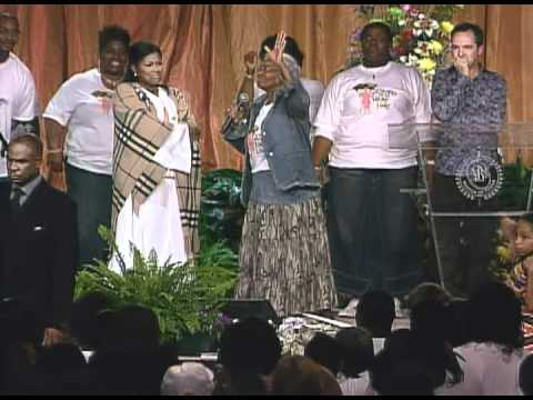Myron Williams, Mother Bynum He Touched Me Praise Break