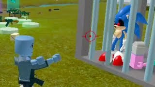 🔥 Try To Kill SONIC. EXE ✪ Sonic Roblox | Gameplay